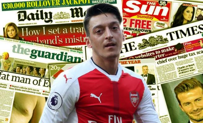 Mesut Özil'in kararını İngiliz basını geniş gördü