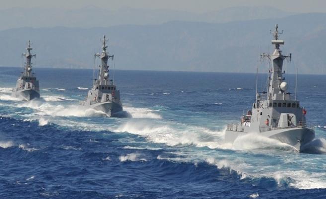 Akdeniz ve Kızıldeniz'de Mısır-Fransa-İngiltere ortak deniz tatbikatı