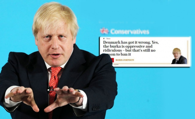 "Boris Johnson'a ""peçe"" incelemesi"