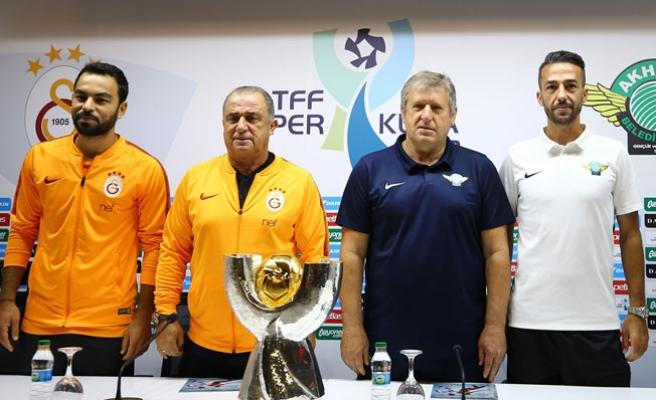 Galatasaray, Akhisapspor ile Süper Kupa için karşılaşıyor