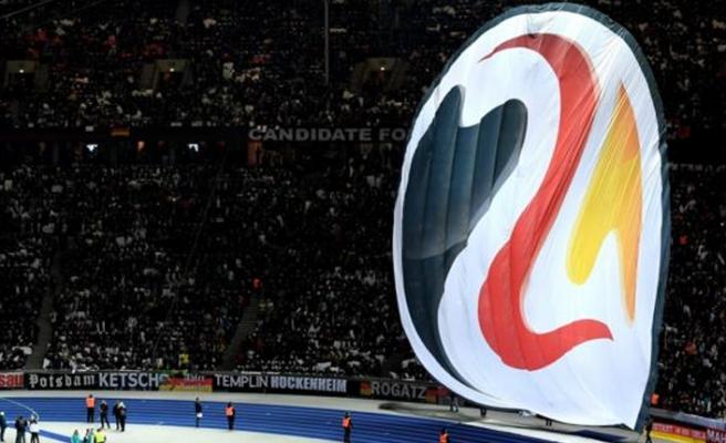 Alman futbolunda EURO 2024 protestosu