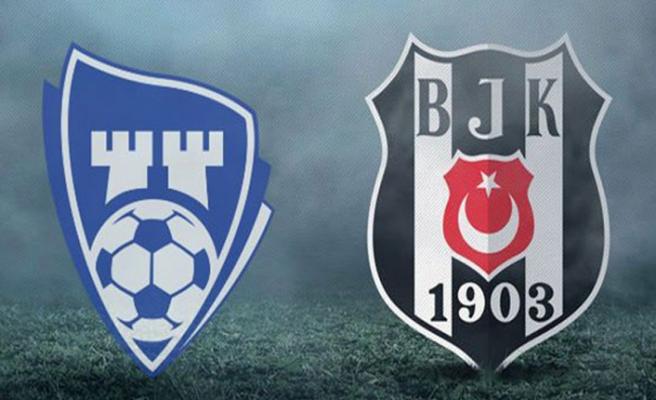 Beşiktaş sahasında SaprsBorg ile karşılaşacak 11'ler belli oldu
