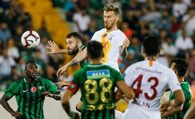 Galatasaray'a Akhisar Şoku!