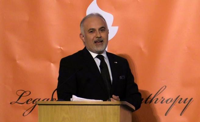 """Türk Kızılayına """"Hayırseverlik Mirası Ödülü"""" verildi"""