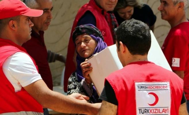 En fazla yardım yapan ülkeler arasında Türkiye ilk sırada