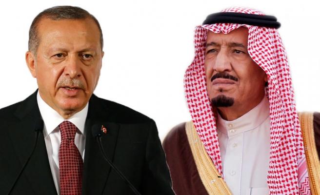 Erdoğan, Kral Selman ile telefonda 'Kaşıkçı' olayını görüştü