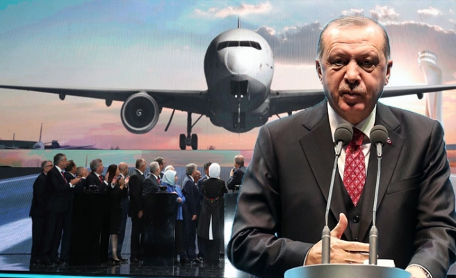 Erdoğan yeni havalimanının adını açıkladı