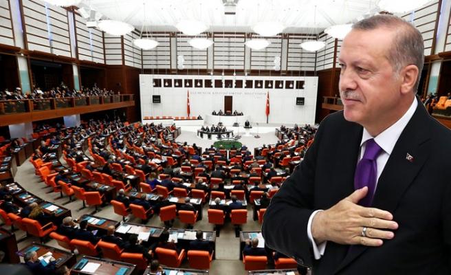 Erdoğan, Yeni Yasama Yılı Nedeniyle TBMM Genel Kuruluna Hitabetti