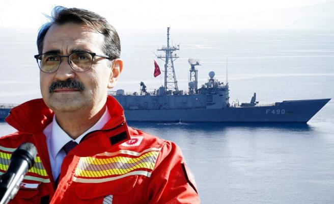 Fatih Sondaj Gemisi Akdeniz Sularında