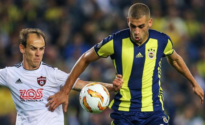 Fenerbahçe, Slimani'nin golleriyle Spartak Trnava'ya fırsat tanımadı