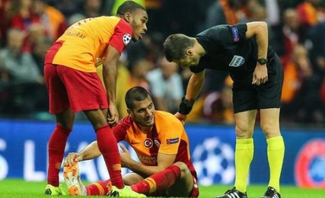 Galatasaray sakatlıklarla boğuşuyor