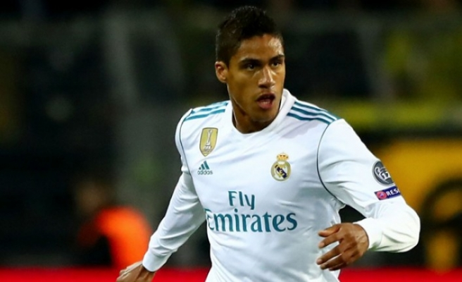 Real Madrid'e Varane'dan kötü haber