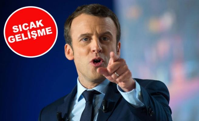 Fransa Cumhurbaşkanı 'Macron'a suikast' girişimi