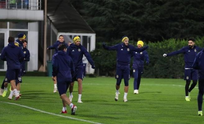 Fenerbahçe'de kupa maçı hazırlıkları tamamlandı