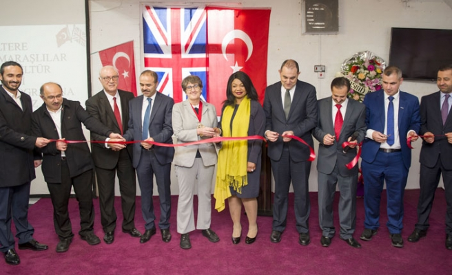İngiltere Kahramanmaraşlılar Derneği'nin açılışı törenle yapıldı