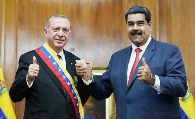 Maduro'dan Türkiye Sıcak Mesajlar