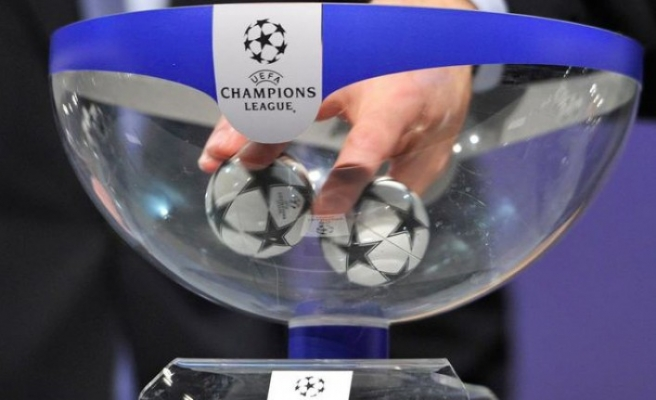 Şampiyonlar Ligi'nde kura çekimi yapıldı
