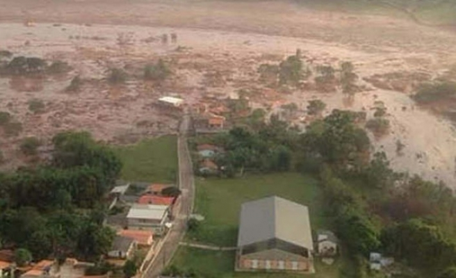 Brezilya'da baraj çöktü: 300'den fazla kayıp