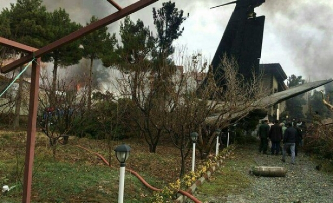 İran'da kargo uçağı düştü: 15 ölü