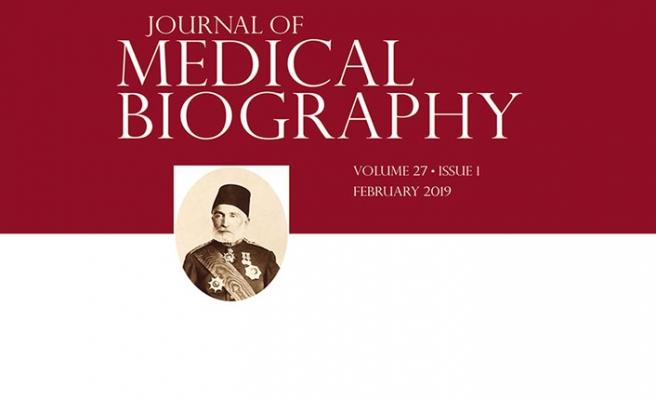 Osmanlı Hekimi, İngiliz Tıp Dergisine Kapak Konusu Oldu