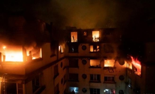 Paris'te apartman yangını: 10 ölü