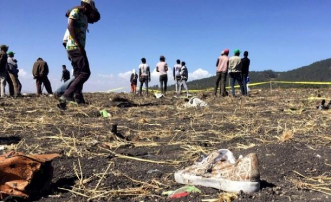 Etiyopya'da düşen uçağın karakutusuna ulaşıldı