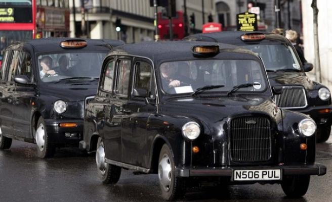 Londra'nın taksicilerinden Brexit isyanı