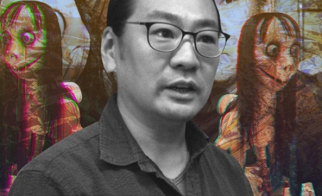 Momo'nun simgesi haline gelen heykelin yapan: Momo öldü, laneti kalktı