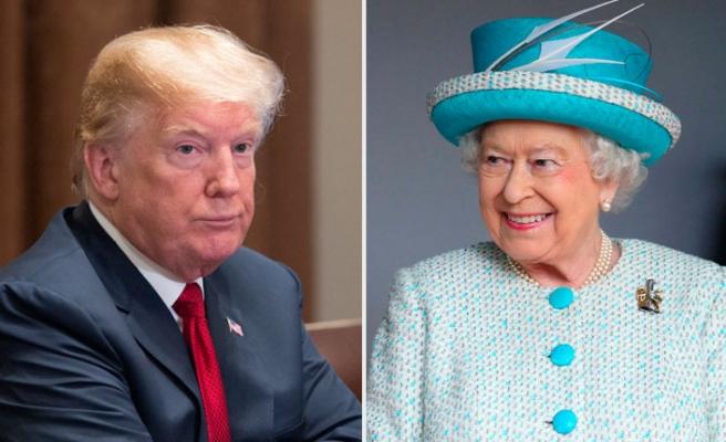 Donald Trump, Kraliçe Elizabeth'in Davetlisi