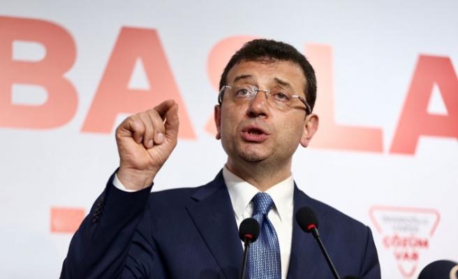Ekrem İmamoğlu'ndan seçim açıklaması