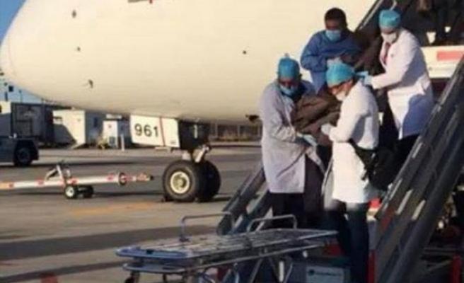 246 poşet kokain yutan Japon yolcu uçakta öldü