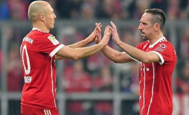 Bayern Münih'te Robben-Ribery dönemi bitiyor