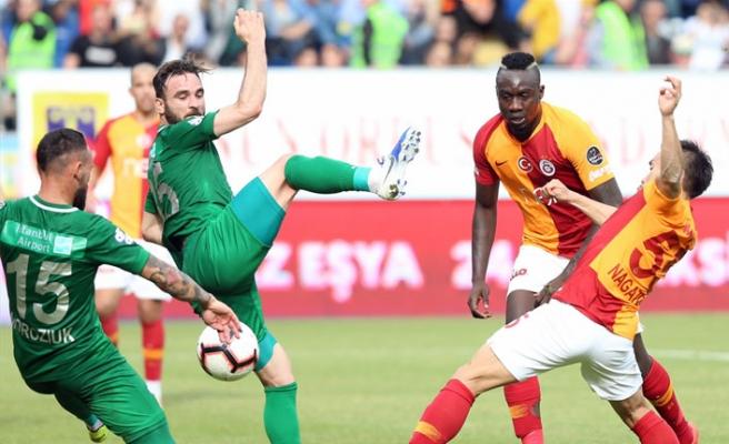 Galatasaray, Rize'den İstediğini Aldı