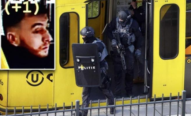 Hollanda'daki tramvay saldırısı zanlısı Gökmen Tanış kendi kendini ele verdi