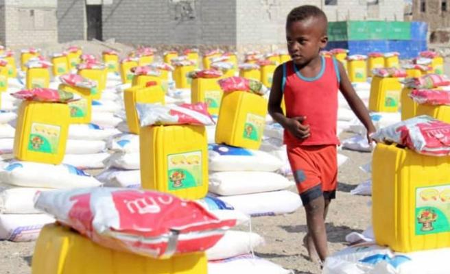 İHH-UK Vakfı'ndan Kumanya Projesi
