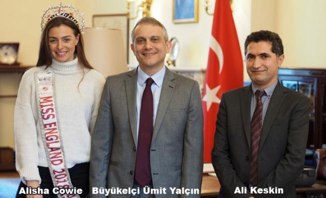 İngiltere Güzellik Kraliçesi Türkiye'nin tanıtım yüzü oluyor