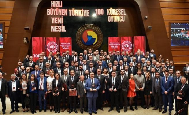 Türkiye'nin en hızlı büyüyen 100 şirketi açıklandı