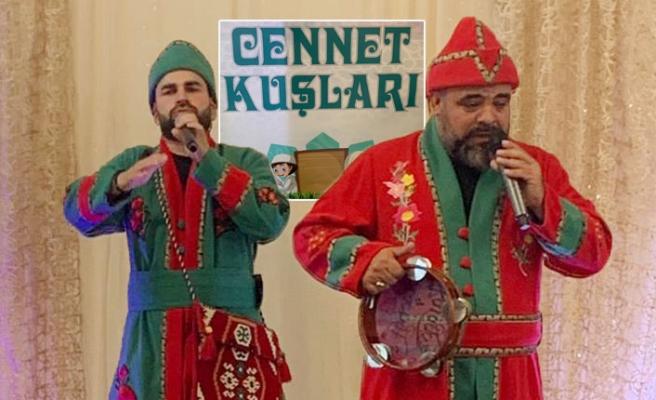 'Cennet Kuşları' Sertifika Töreninde Hacıvat ve Karagöz'le Eğlendi