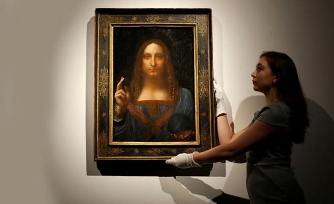 Da Vinci'nin İsa'lı tablosunu rekor fiyata bakın kim almış!