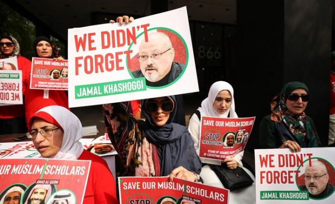 "Suudi Arabistan'a ""idam"" protestosu"