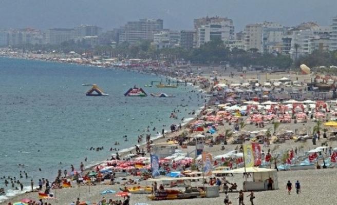 Turizm merkezlerinde bayram bereketi