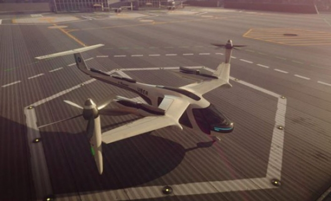 Uber, 'uçan taksilerini' Avustralya'da da deneyecek