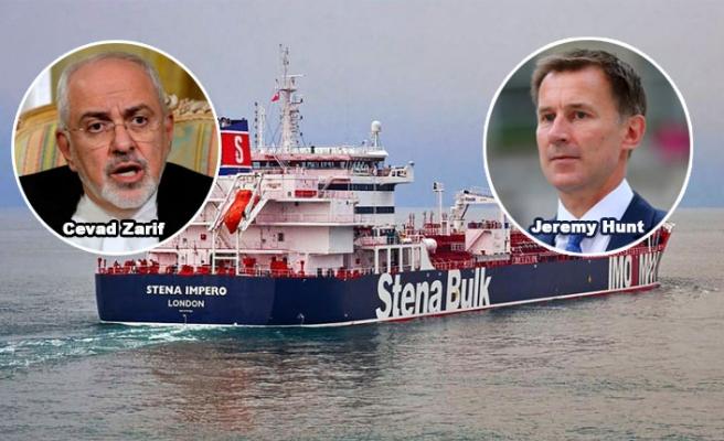 İran'ın İngiliz tankerini alıkoymasından hemen önceki telsiz konuşmaları