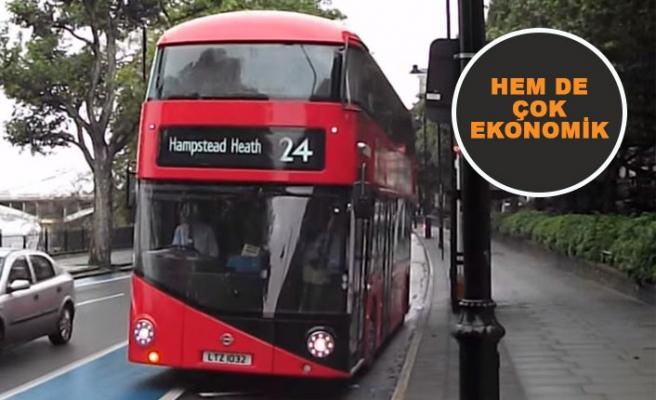 Londra Kent Merkezi West End'in her köşesini bir otobüsle gezebilirsiniz!