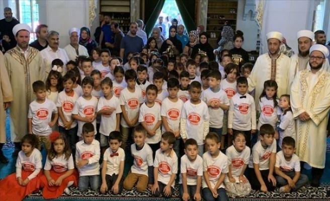 Almanya'da 'Dua ile birlikte okula başlıyorum' etkinliği
