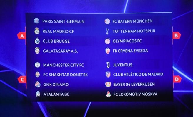 Galatasaray'ın UEFA Şampiyonlar Ligi rakipleri belli oldu