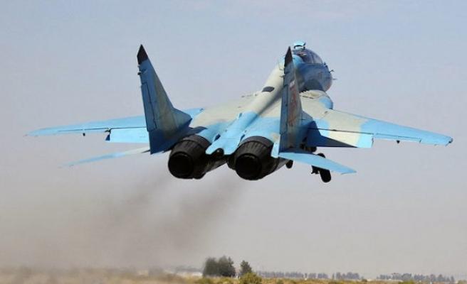 İran'a ait savaş uçağı düştü