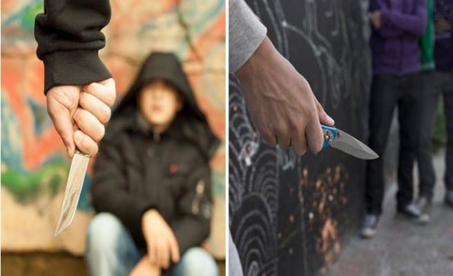 Okulda 6 yaşındaki çocukta bıçak yakalandı