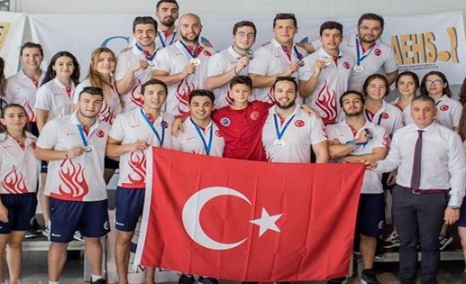 Sualtı hokeyinde Türkiye yeniden Avrupa şampiyonu