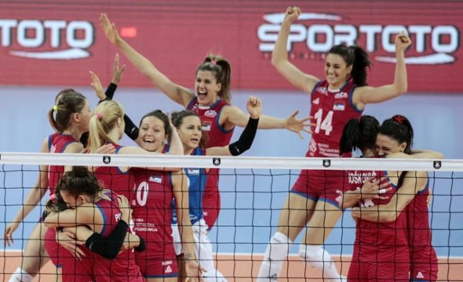 Kadın Voleybol Milli Takım Yarı Finalde